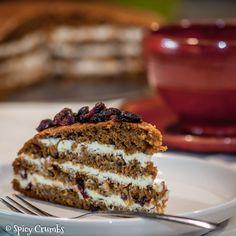 Mrkvový dort – carrot cake