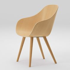 """Maruni will launch two """"comfortable"""" wooden chairs by designers Naoto Fukasawa and Jasper Morrison at this year's Salone del Mobile furniture fair, taking place in Milan later this month."""