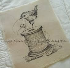 Image result for michelle palmer artist chickadee bird