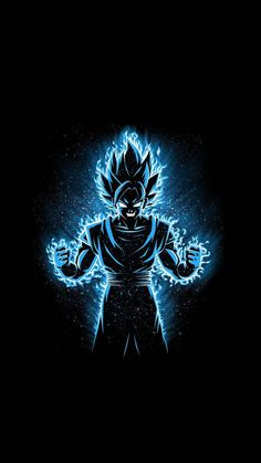 Dragon Ball Z Senpai Anime - Goku Wallpaper, Neon Wallpaper, Dragonball Wallpaper, Dragon Ball Image, Dragon Ball Gt, Goku Dragon, Dragonball Anime, Amoled Wallpapers, Animes Wallpapers