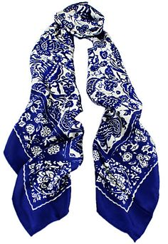 Shop Royal Blue Vintage Floral Scarves online. Sheinside offers Royal Blue Vintage Floral Scarves & more to fit your fashionable needs. Free Shipping Worldwide!