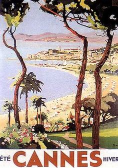 Cannes by L. PERI (1925)