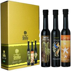 "OLIO EXTRA VERGINE DI OLIVA STILLA ""PREMIUM"". My birthday is coming #packaging PD"
