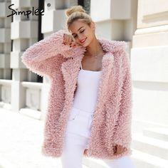 Top Fashion, Fur Coat Fashion, Winter Fashion, Jeans Fashion, Womens Fashion, High Fashion, Fashion Trends, Pink Winter Coat, Autumn Coat