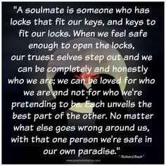 We're safe in our own paradise love this
