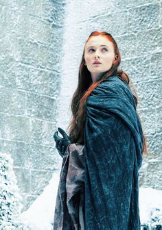 "Sansa Stark - Game of Thrones ""Mockingbird"" Winter Is Here, Winter Is Coming, Serie Got, Game Of Thrones Sansa, Collateral Beauty, Game Of Thrones Costumes, Got Characters, Game Of Thrones Houses, My Sun And Stars"