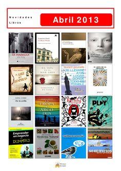 Novelas, novela xuvenil e libros de materias novos na Biblioteca Os Rosales. O luns 1 de abril xa podedes levalos todos en préstamo.