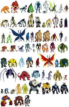 Aliens in Ben 10 Ultimate Aliens Ben 10 Omniverse, Ben 1000, Ben 10 Comics, Ben 10 Party, Gwen 10, Ben 10 Ultimate Alien, Les Aliens, Ben 10 Alien Force, Pokemon