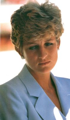 1992. Diana looks so sad here, I do believe she is crying? Either way, this is a very haunting photo of our lovely Lady Diana. I miss her. ~