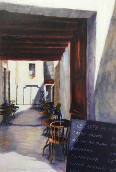 "Saatchi Art Artist Sharon Ruttonsha; Painting, ""Dessert du jour - St. Emilion, France"" #art"