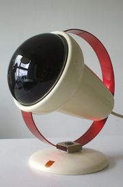 Rode lamp