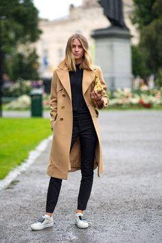 пальто бойфренд с кроссовками - Поиск в Google