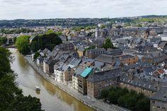 Panorámica de Namur - Foto: JP Remy (Turismo de Bélgica)