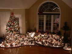 Christmas village. Me encanta la gente que se va al carajo.