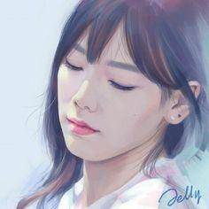 SNSD TaeYeon by Jelly / Source : https://twitter.com/fxhambuk/status/479868217477718016/photo/1
