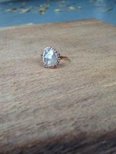 custom diamond ring  ::  Alexis Russell