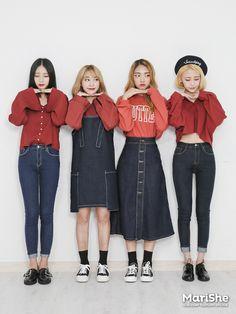 Kpop Fashion Outfits, Ulzzang Fashion, Harajuku Fashion, Korea Fashion, Asian Fashion, Girl Fashion, Korean Winter Outfits, Korean Outfits, Dance Outfits