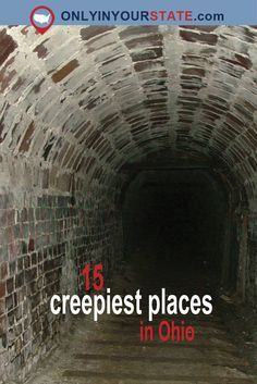 Spooky Places, Haunted Places, Abandoned Places, Abandoned Ohio, Places To Travel, Places To See, Travel Things, Ohio Hiking, Put In Bay Ohio
