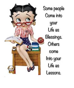 Cute but true! Cute Quotes, Funny Quotes, Black Betty Boop, Betty Boop Cartoon, Saving Quotes, Betty Boop Pictures, Deep Words, Friendship Quotes, Be Yourself Quotes