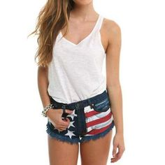 #OpenSky                  #Women                    #American #Flag #Shorts   American Flag Cut Off Shorts                                                  http://www.snaproduct.com/product.aspx?PID=5814711