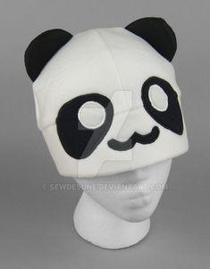 Panda Hat by SewDesuNe