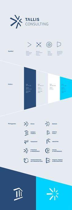 Tallis Consulting Brand Design on Behance
