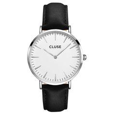 CLUSE LA BOHÈME SILVER WHITE/BLACK CL18208
