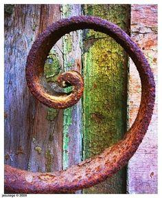 I love spirals......