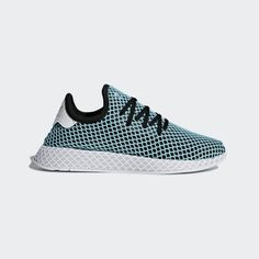 official photos 03152 6bcde Parley x adidas Deerupt Runner Blue Spirit