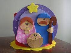porta panetone de feltro - Pesquisa Google Nativity Ornaments, Nativity Crafts, Christmas Nativity, Christmas Holidays, Christmas Crafts, Christmas Decorations, Xmas, Christmas Ornaments, Diy And Crafts