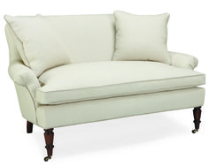 Shop for Lee Industries Loveseat, and other Living Room Loveseats at Exotic Home in Virginia Beach area, Norfolk area, and the Outer Banks. Shown in Fabric: Linentic Ocean. Take A Seat, Love Seat, Kitchen Sitting Areas, Sitting Rooms, Bed Settee, Loveseat Sofa, Unfinished Furniture, Industrial Furniture, Exotic Homes