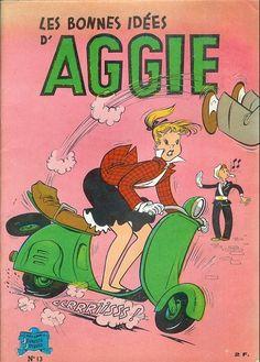 Aggie -13- Les bonnes idées d'Aggie - BD