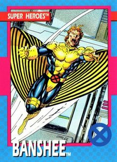 2nd favorite character ever.  Most prized comic?  First appearance Banshee #28, January '67.