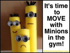 Move Your Body Everyday!: Moving with Minions! Minion Classroom Theme, Minion Theme, Minion Birthday, Minion Party, Classroom Themes, Minion Room, Birthday Board, Preschool Classroom, Elementary Physical Education