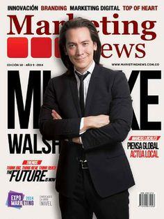 Nuestra Edición número 50, Mike Walsh y el Futuro que se avecina. #marketingnews noticias que generan conversaciones Digital Marketing, Branding, Social Media, Future Tense, News, Brand Management, Social Networks, Identity Branding, Social Media Tips