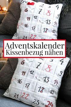 IKEA  Adventskalender DIY  mit Täschchen Zahlen selbst befüllen