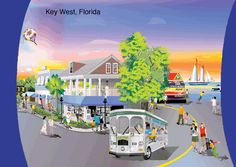 Great value on board CityView Trolley Tours in Boston and Key West!