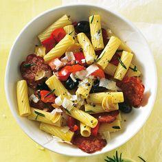 Chorizo-Pasta mit Paprika