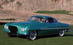 1952, Plymouth Explorer Ghia | Things from another world are RetroActive FanZine