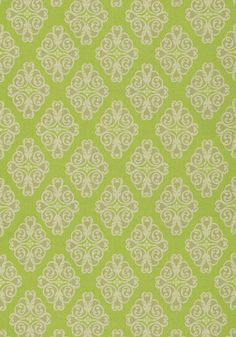 Montgomery #fabric in #green from the Anniversary collection. #Thibaut