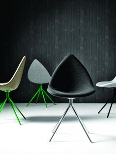 Karim Rashid's Ottawa Collection for BoConcept. These are very comfortable chairs, believe us!