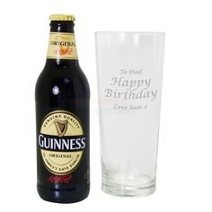 Personalised Guinness Gift Set  from Personalised Gifts Shop - ONLY £19.55