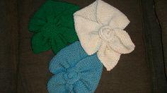 Handmade scarfs (knit)