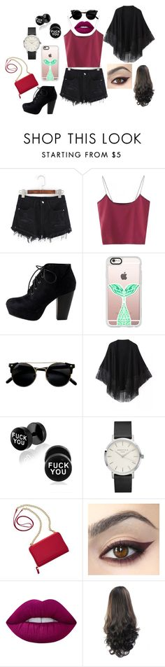 """""""Sem título #6"""" by bruuhwey ❤ liked on Polyvore featuring Casetify, Relaxfeel, TravelSmith and Lime Crime"""