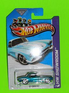 2013 Hot Wheels Super Treasure Hunt ( '62 Corvette ) Near Mint