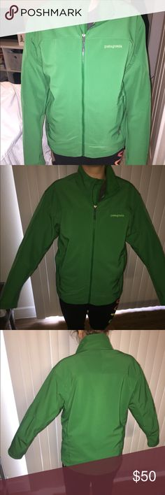 Men's Patagonia Jacket Hard shell jacket  Patagonia!! Men's M, fits L  Amazing Condition! Patagonia Jackets & Coats Performance Jackets