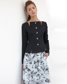 sexy elegant print lady office dress suit