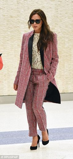 Victoria has been showcasing a new style in recent weeks and has been stepping out in some impeccable designs in New York
