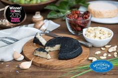 Planning a #Halloween party?Try serving Miyoko's Kitchen Black Ash with sun dried tomato for an extra healthy treat.
