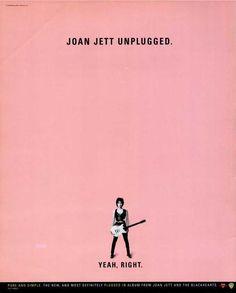Classic Album Ad: Joan Jett (1994)